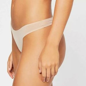 Intimately FREE PEOPLE Taylor THONG NUDE  NWT
